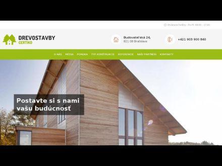 www.drevostavby-certiko.sk
