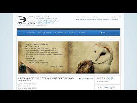 www.educaslovakia.sk