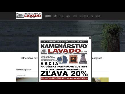 www.lavado.sk