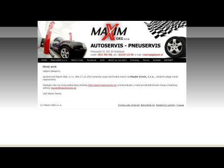 www.maximgkg.sk