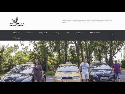 www.autoskola-zlateklasy.sk