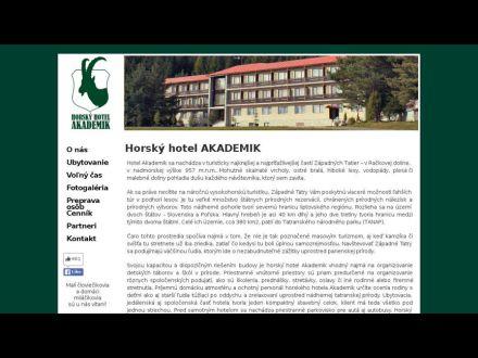 www.hotelakademik.sk
