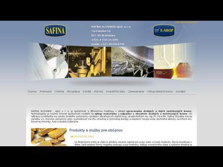www.safina.sk