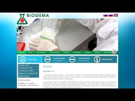 www.biogema.sk