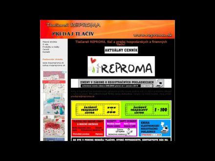 www.reproma.sk