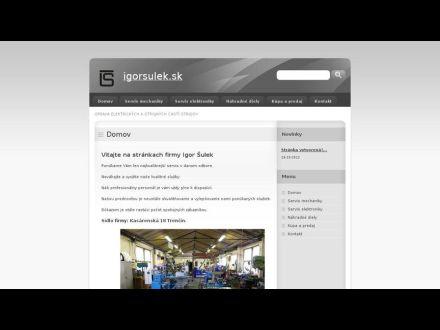 www.igorsulek.sk