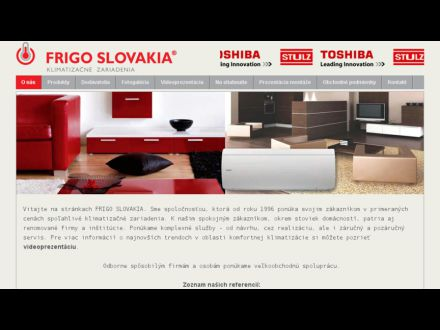 www.frigo.sk