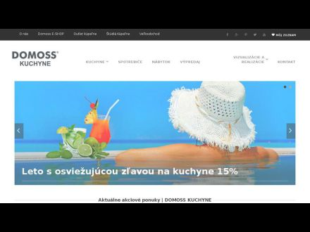 www.domosskuchyne.sk