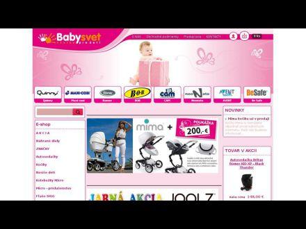 www.babysvet.sk