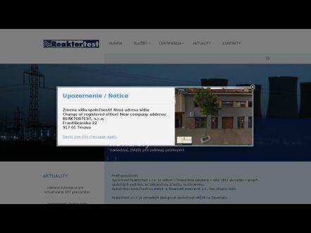 www.reaktortest.sk