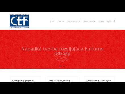 www.cef.sk