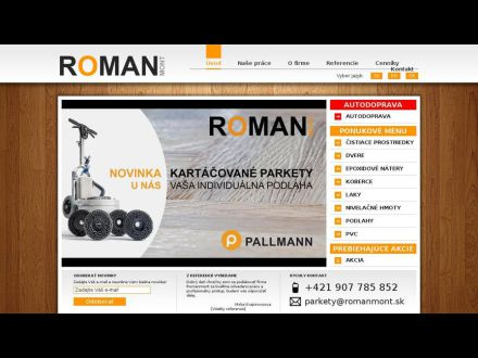www.romanmont.sk