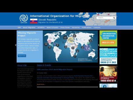 www.iom.sk