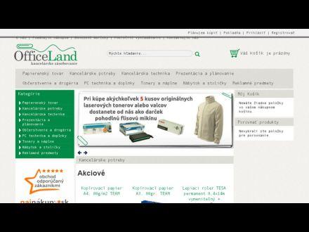 www.officeland.sk