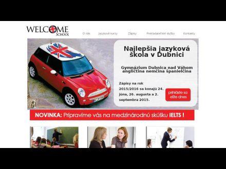 www.welcome-school.sk