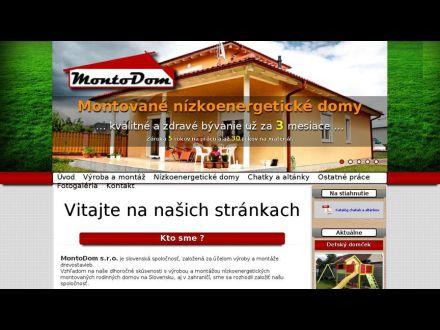 www.montodom.sk