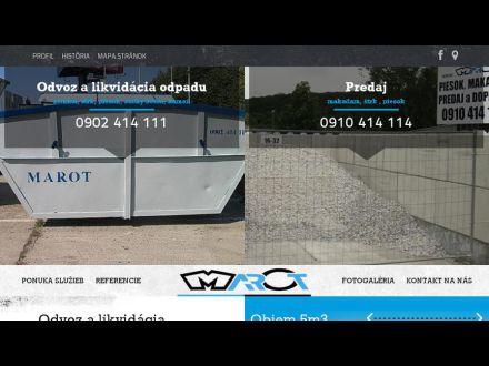 www.marot.sk