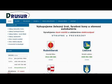 www.drusur.sk