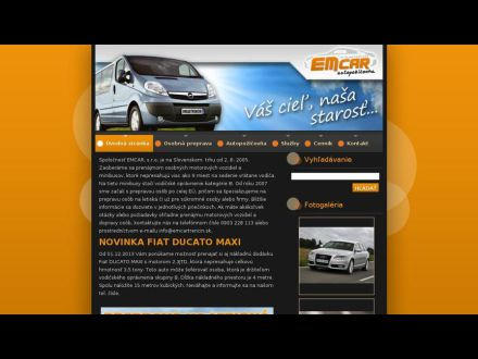 www.emcartrencin.sk