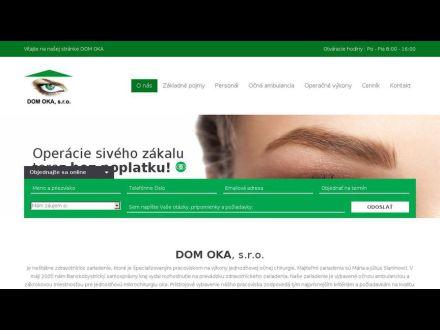 www.mikrochirurgiaoka.sk