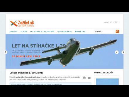 www.zazilet.sk