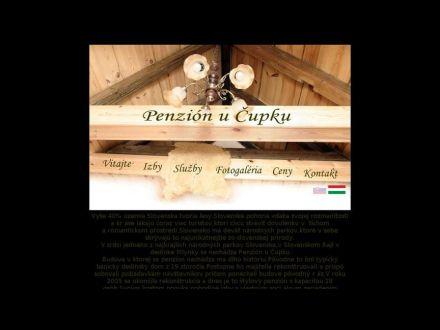 www.penzionucupku.sk