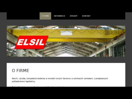 www.elsil.sk