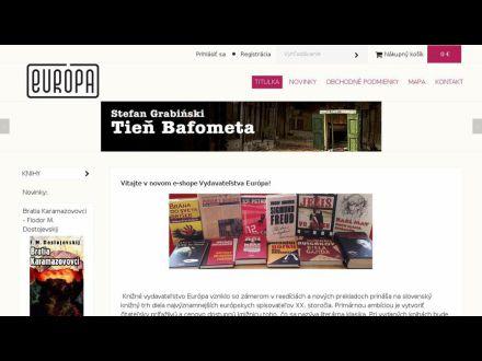 www.vydavatelstvo-europa.sk