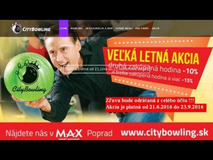 www.citybowling.sk
