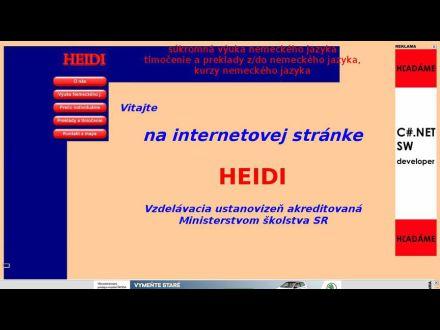 www.heidi.szm.sk