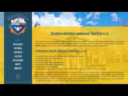 www.matistav.sk