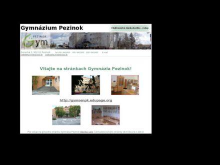 www.gymsenpk.edu.sk