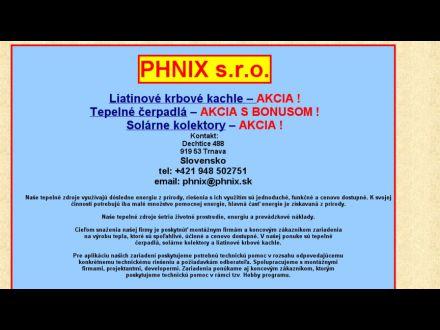 www.phnix.sk