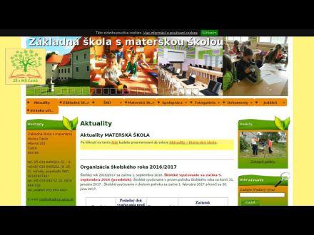 www.zscasta.sk