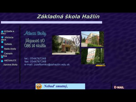 www.zshazlin.edu.sk
