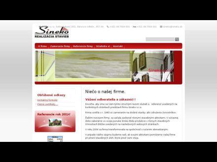 www.sineko.sk