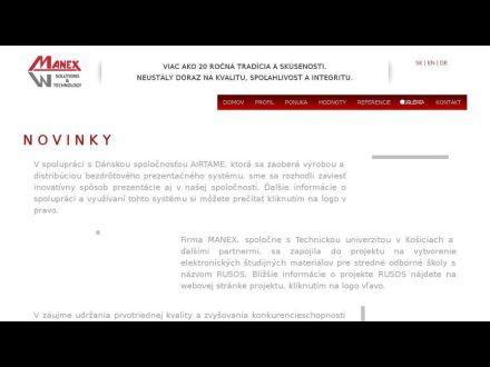 www.manex.sk