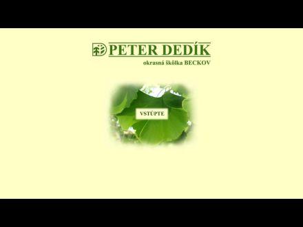 www.peterdedik.sk