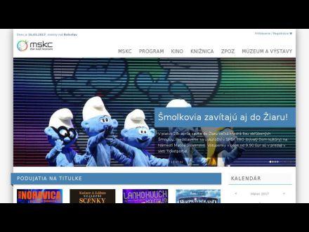 www.mskcentrum.sk