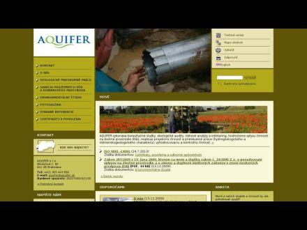 www.aquifer.sk