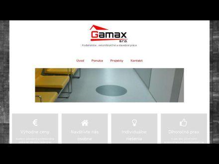 www.gamax.sk