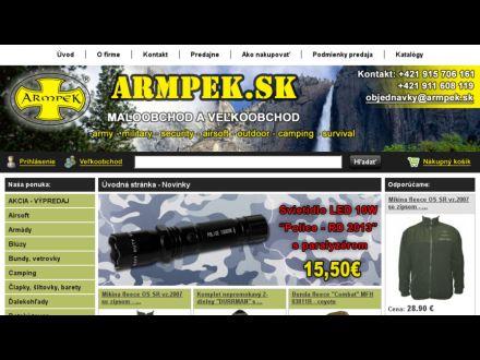 www.armpek.sk