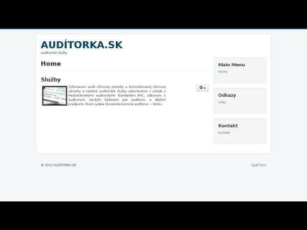 www.auditorka.sk