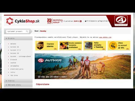 www.cykloshop.sk