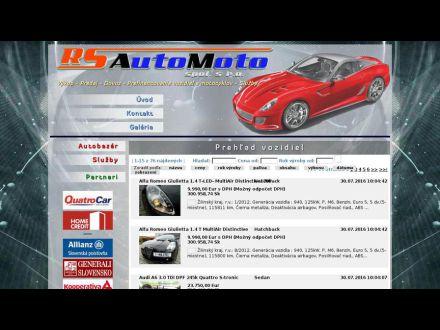 www.rsautomoto.sk