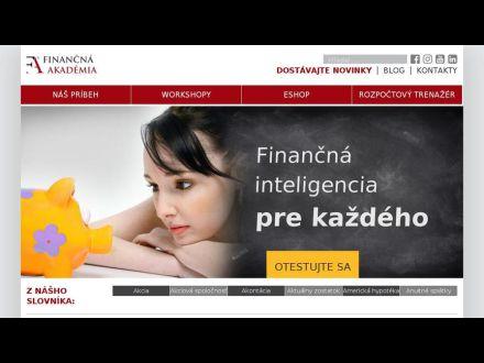 www.financnaakademia.sk
