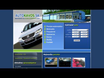 www.autokavos.sk