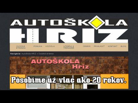 www.autoskolahriz.sk