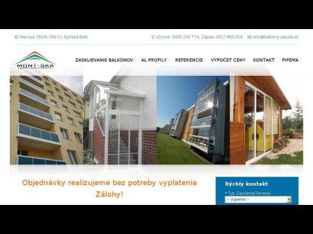 www.balkony-zaluzie.sk
