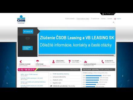 www.csobleasing.sk